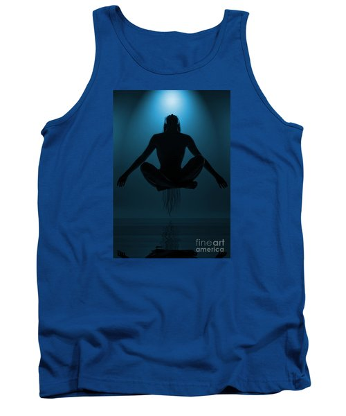 Reaching Nirvana.. Tank Top by Nina Stavlund