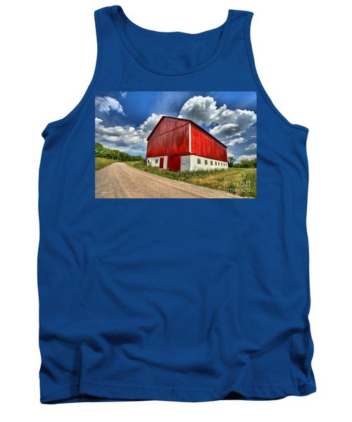 Red Country Barn Tank Top