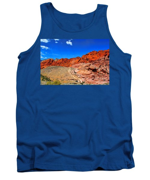 Red Rock Canyon Tank Top by Mariola Bitner