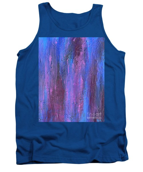 Tank Top featuring the painting Reflections by Roz Abellera Art
