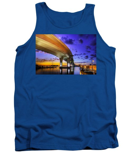 Ribbon In The Sky Tank Top by Marvin Spates