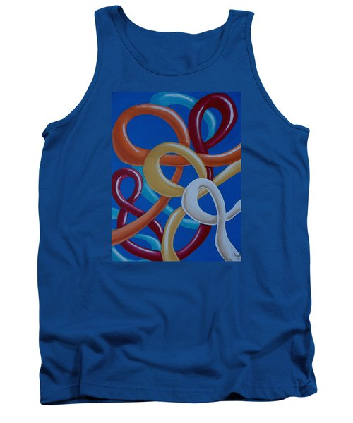 Ribbons In The Sky Tank Top