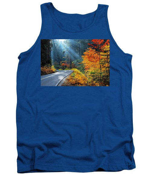 Road To Glory  Tank Top by Lynn Bauer
