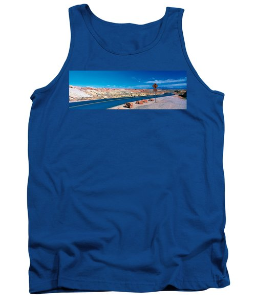 Road Valley Of Fire State Park Overton Tank Top