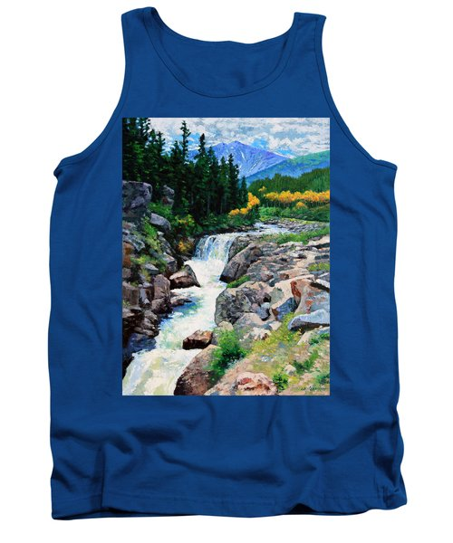 Rocky Mountain High Tank Top by John Lautermilch