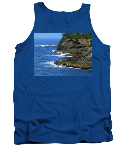 Tank Top featuring the photograph Rocky Shores by Tikvah's Hope