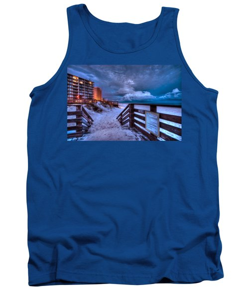 Romar Beach Clouds Tank Top