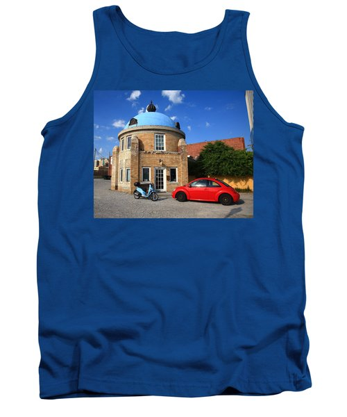 Route 66 - Blue Dome Of Tulsa Tank Top