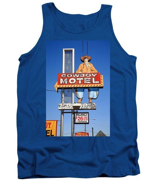 Route 66 - Cowboy Motel Tank Top