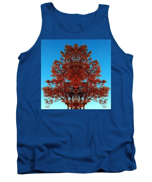 Tank Top featuring the photograph Rust And Sky 2 - Abstract Art Photo by Marianne Dow
