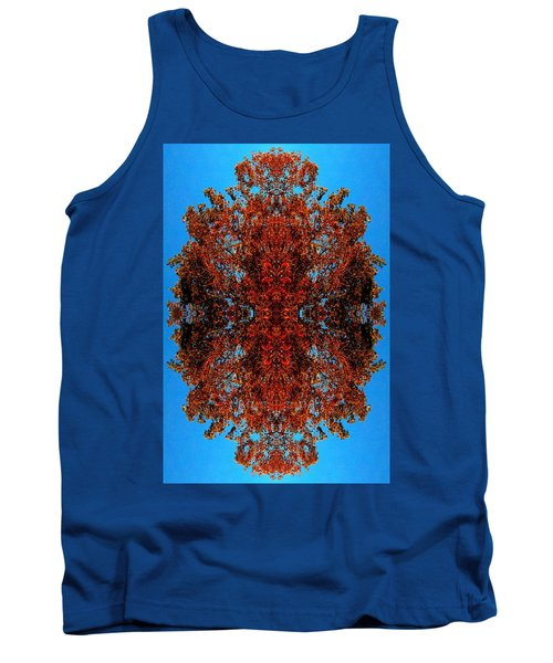 Tank Top featuring the photograph Rust And Sky 5 - Abstract Art Photo by Marianne Dow