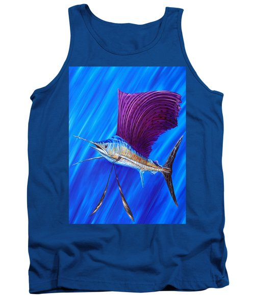 Sailfish Tank Top by Steve Ozment