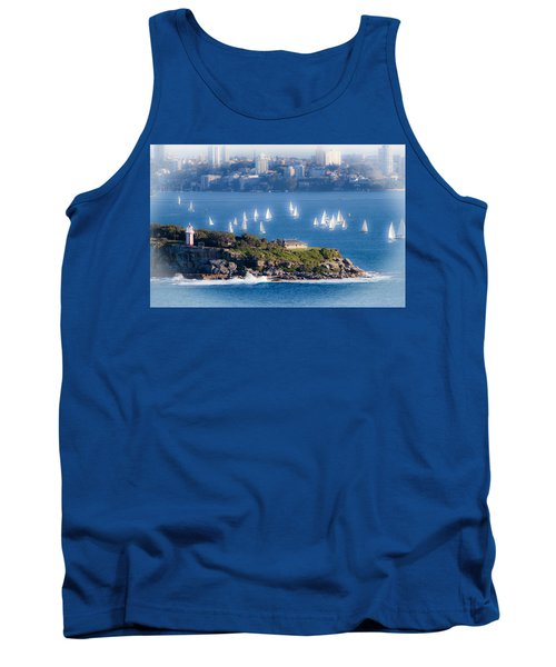 Tank Top featuring the photograph Sails Out To Play by Miroslava Jurcik