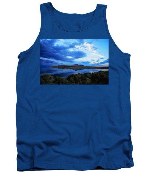 Salt Lake Antelope Island Tank Top by Matt Harang