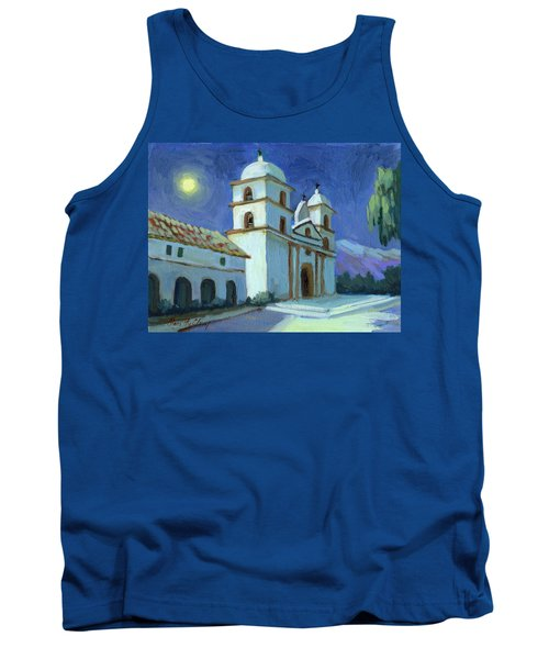 Santa Barbara Mission Moonlight Tank Top