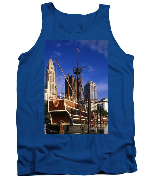 Santa Maria Replica Photo Tank Top