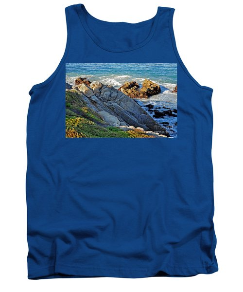 Sarcophagus Formation On Seaside Rocks Tank Top
