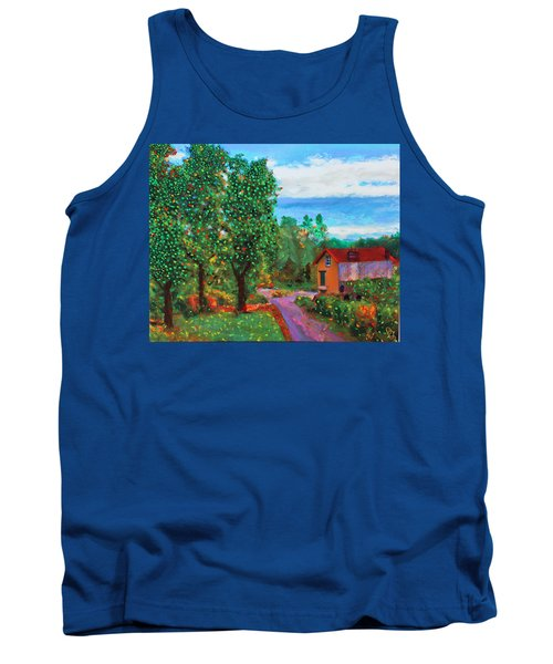 Scene From Giverny Tank Top