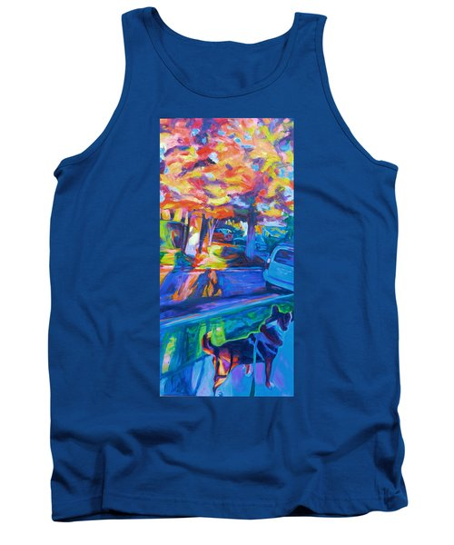 Scout In The Morning Tank Top by Bonnie Lambert