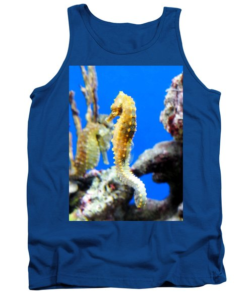 Sea Horses Tank Top by Amy McDaniel