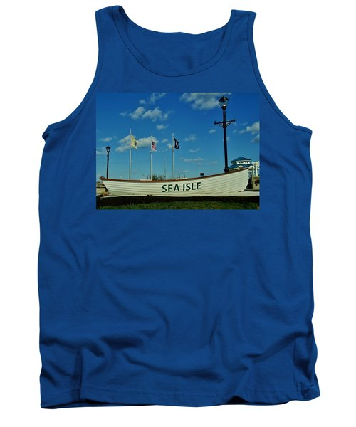 Sea Isle City Tank Top by Ed Sweeney