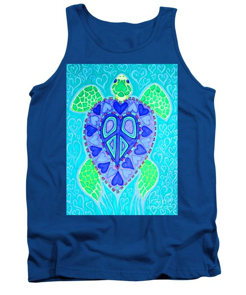 Sea Turtle Swim Tank Top