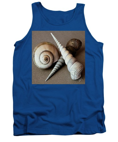 Seashells Spectacular No 24 Tank Top