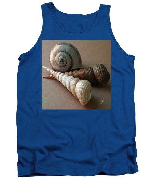Seashells Spectacular No 29  Tank Top