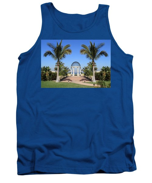 Seaside Gazebo Tank Top