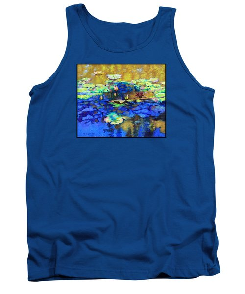 Shadows And Sunspots Tank Top by John Lautermilch