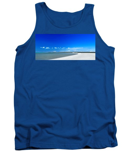 Tank Top featuring the photograph Shell Beach by Yew Kwang