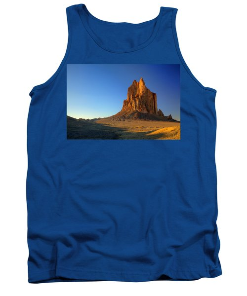 Shiprock Sunset Tank Top by Alan Vance Ley