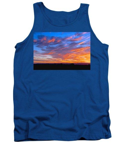 Sierra Nevada Sunrise Tank Top by Eric Tressler