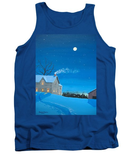Silent Night Tank Top by Norm Starks