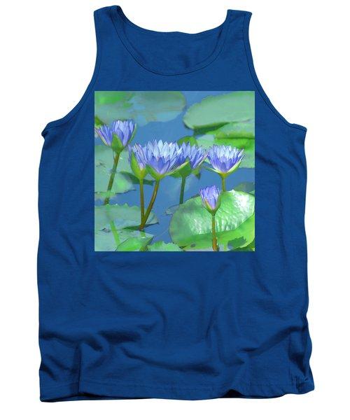 Silken Lilies Tank Top