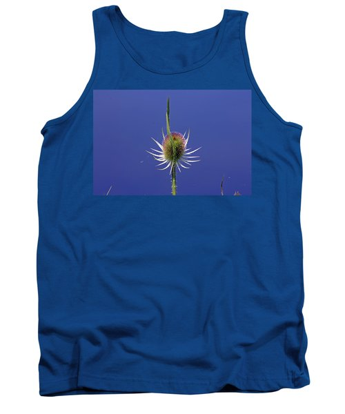 Single Teasel Tank Top by Tony Murtagh