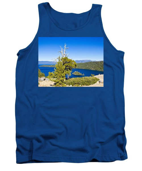 Sky Blue Water - Emerald Bay - Lake Tahoe Tank Top