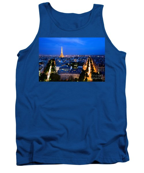Skyline Of Paris Tank Top