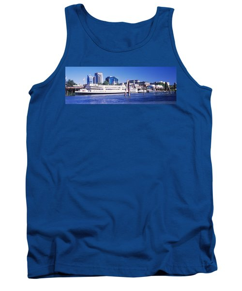 Skyscrapers At The Waterfront, Delta Tank Top