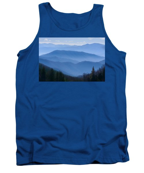 Smoky Mountains Tank Top by Melinda Fawver