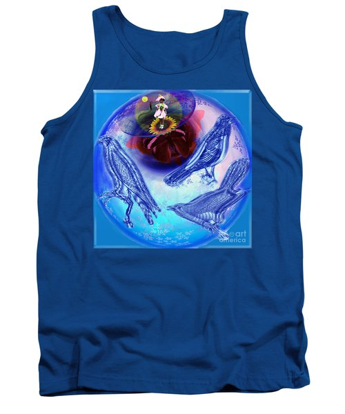 Snowbirds Flock To Eternal Spring Tank Top