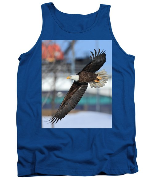 Tank Top featuring the photograph Soaring Eagle by Coby Cooper