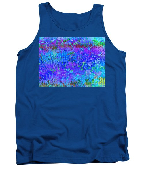Tank Top featuring the photograph Soft Pastel Floral Abstract by Judy Palkimas