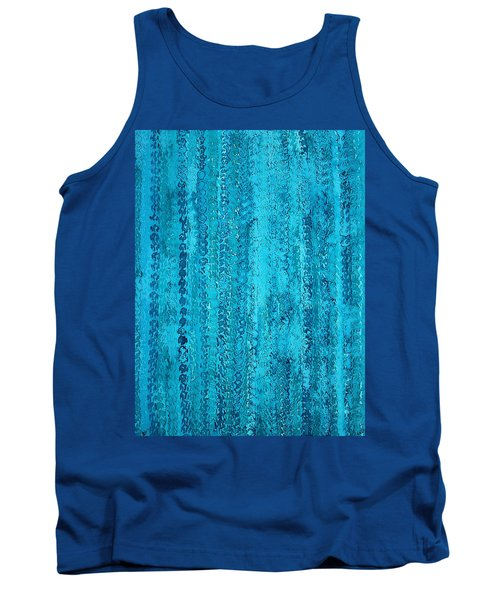 Some Call It Rain Original Painting Tank Top by Sol Luckman