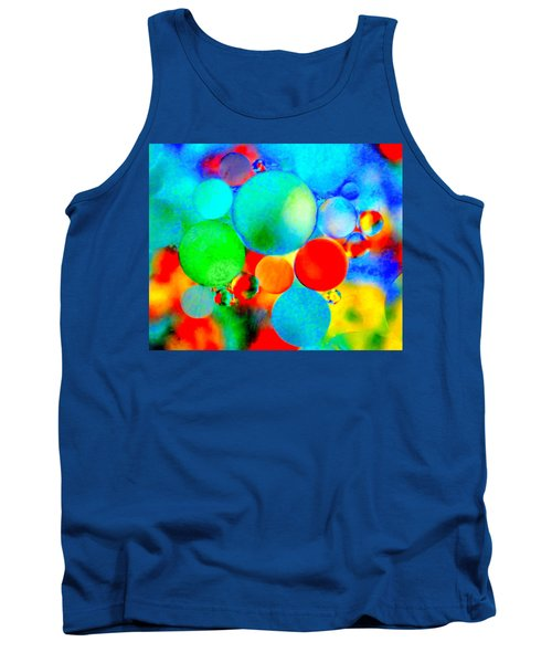 Something Out Of Nothing Tank Top by Wayne King