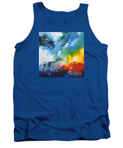 Spark Of Life Canvas Two Tank Top