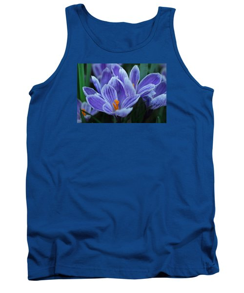 Tank Top featuring the photograph Spring Crocus by Julie Andel