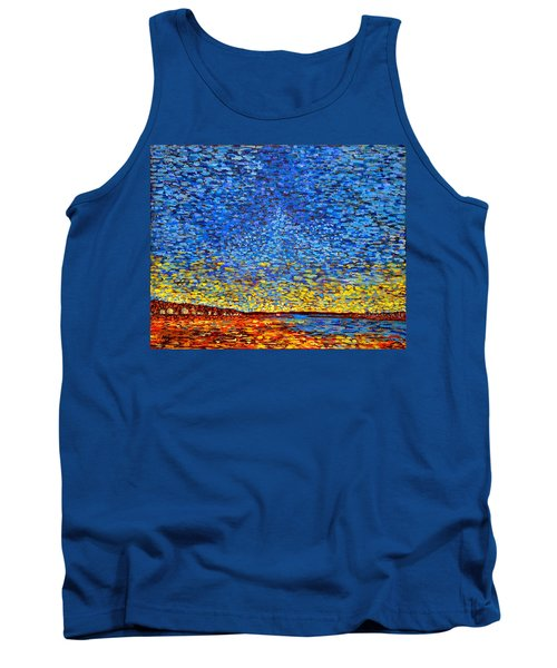 St. Andrews Sunset Tank Top