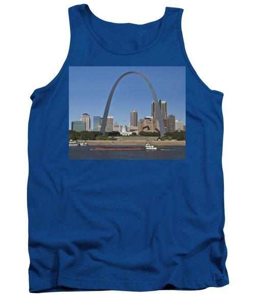 St Louis Skyline Tank Top