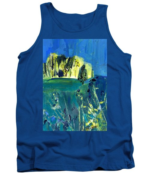 Stand Of Trees In Distance Tank Top